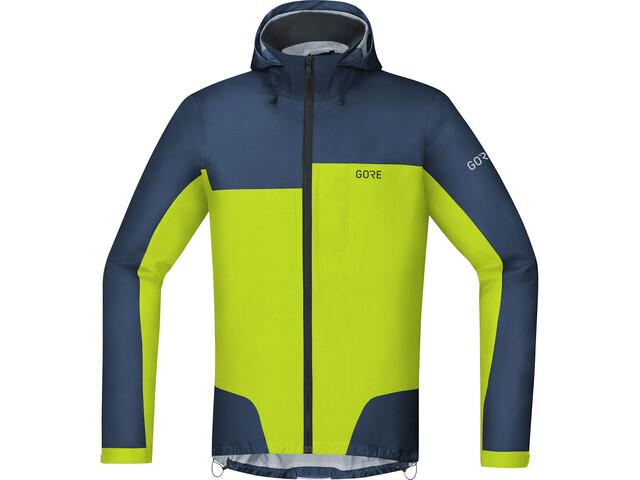 c8ed4275d29a65 GORE WEAR C5 Gore-Tex Active Trail Hooded Jacket Men deep water blue ...